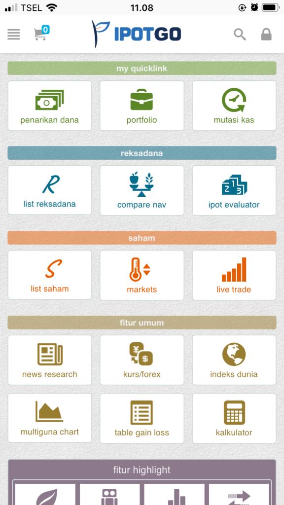 dashboard aplikasi ipotgo