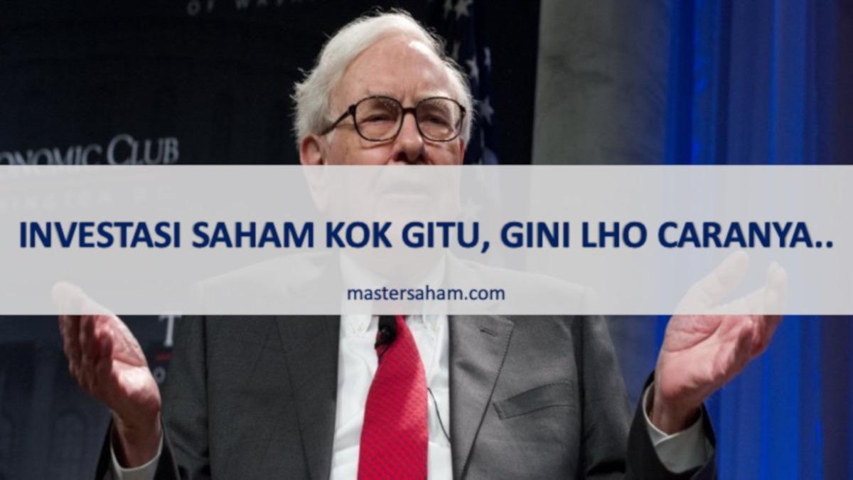 warren buffet investor saham sejati