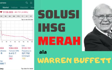 investasi saham ala warren buffett